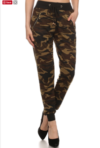 Cube Pants Camo Style 1076