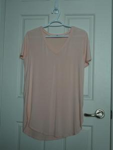 """Emma's Closet"" V Neck Short Sleeve"