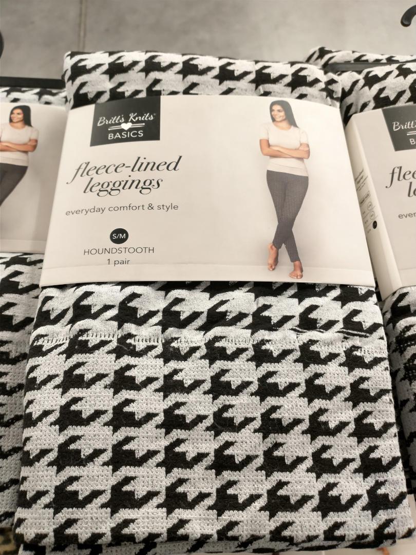 Britt's Knits Fleece-Lined Leggings