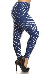 Tie Dye Plus Leggings Style 1035